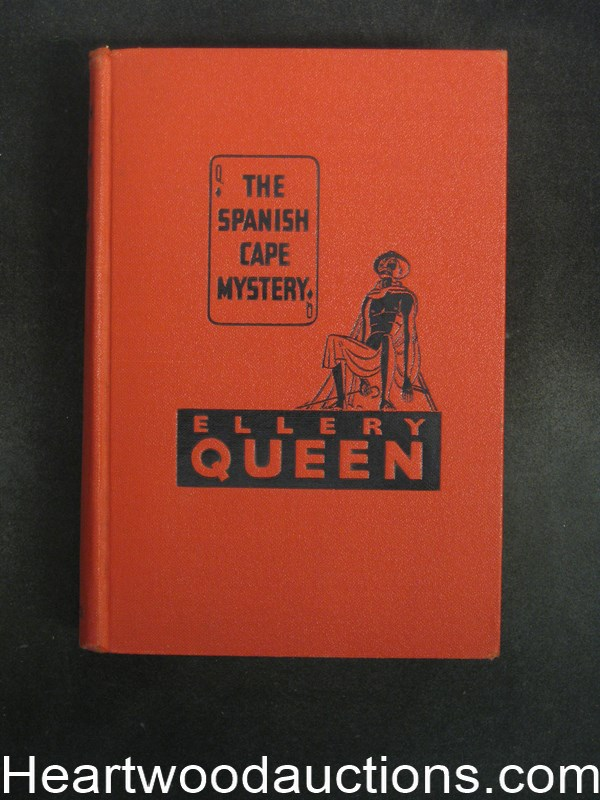 The Spanish Cape Mystery by Ellery Queen