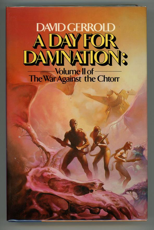Day for Damnation by David Gerrold (First Edition)- High Grade