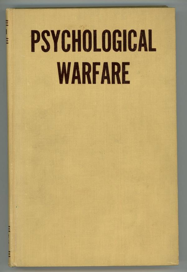 Psychological Warfare by Paul M. A. Linebarger First Edition