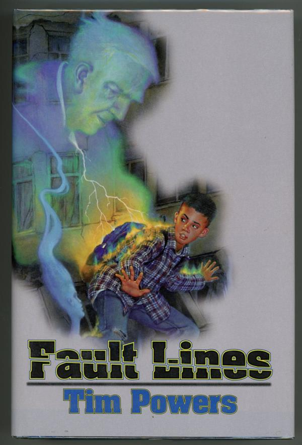 Fault Lines by Tim Powers Signed First Edition- High Grade