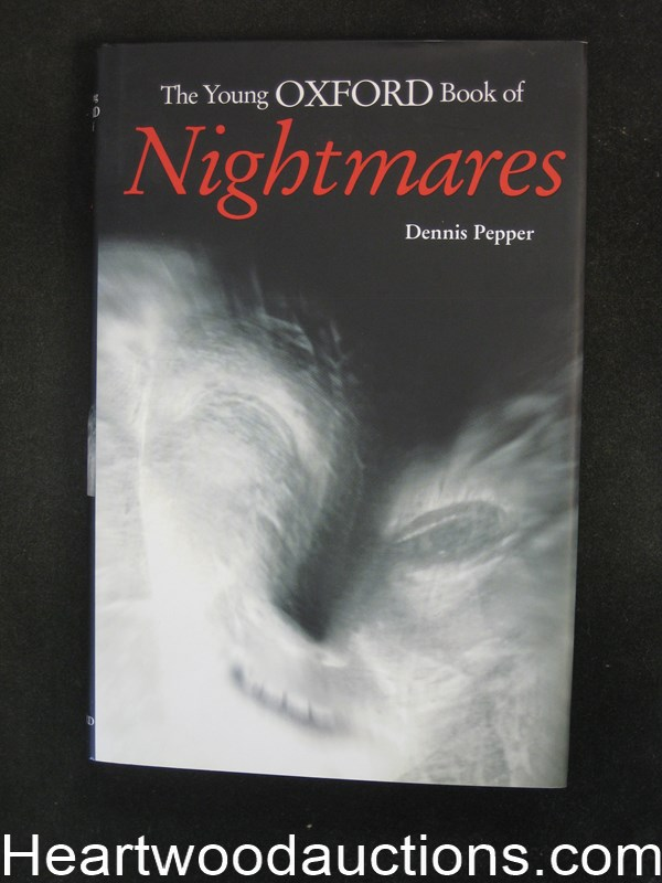 The Young Oxford Book of Nightmares by Dennis Pepper Unread Copy