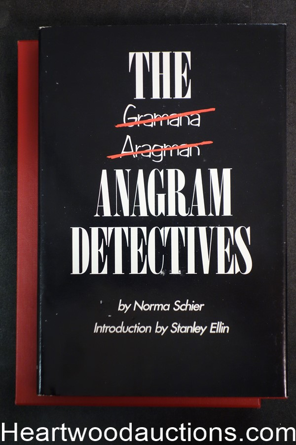 The Anagram Detectives by Norma Schier (Signed)(Ltd Ed. #241) - High Grade