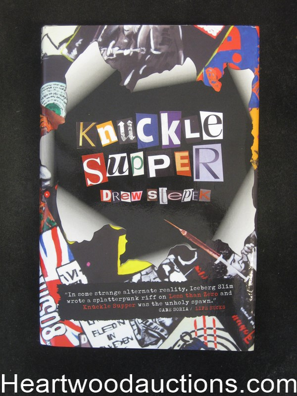 Knuckle Supper by Drew Stepek Unread Copy