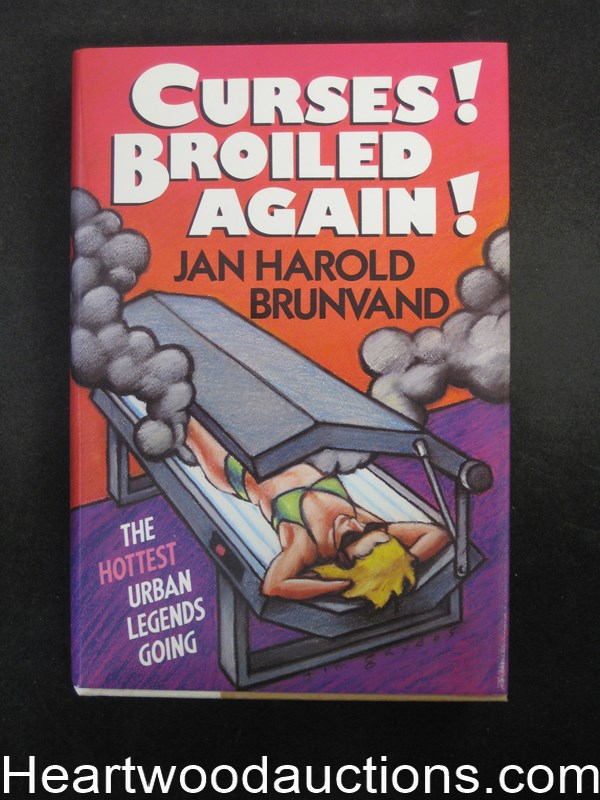 Curses! Broiled Again! by Jan Harold Brunvand Unread Copy