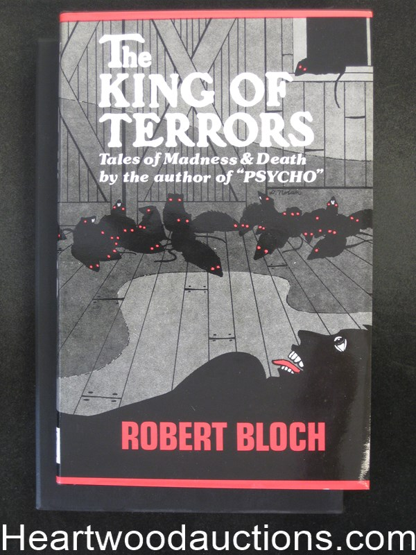 The King of Terrors by Robert Bloch Unread Copy.