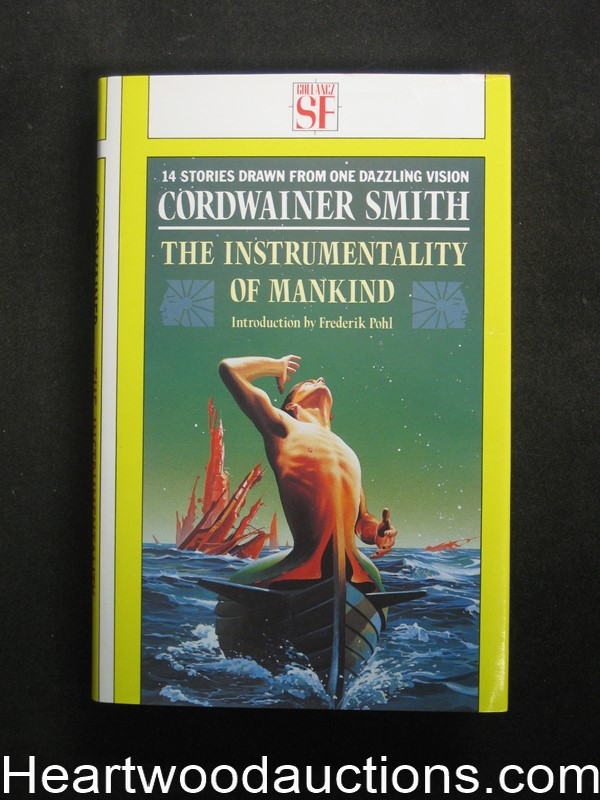 The Instrumentality Of Mankind by Cordwainer Smith- High Grade