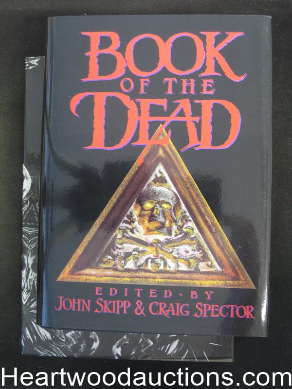 Book of the Dead  John Skipp (Signed by Stephen King and all 16 Authors) Limited Edition
