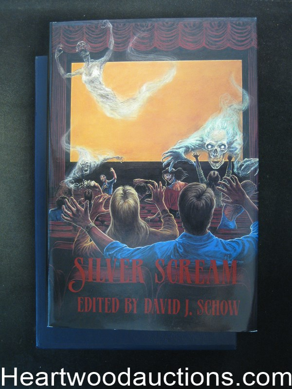 Silver Scream by David J. Schow  (Signed by Campbell and all the  Authors)