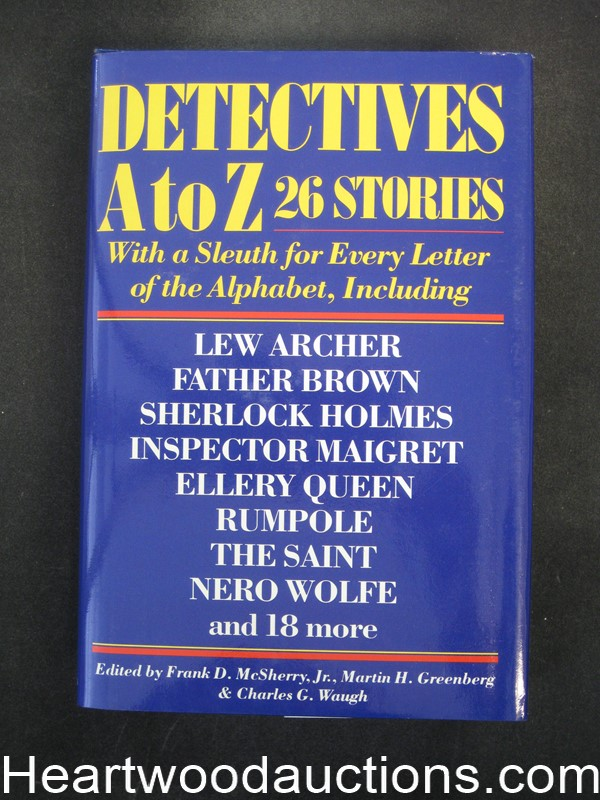 Detectives A to Z by Frank D. McSherry Jr.