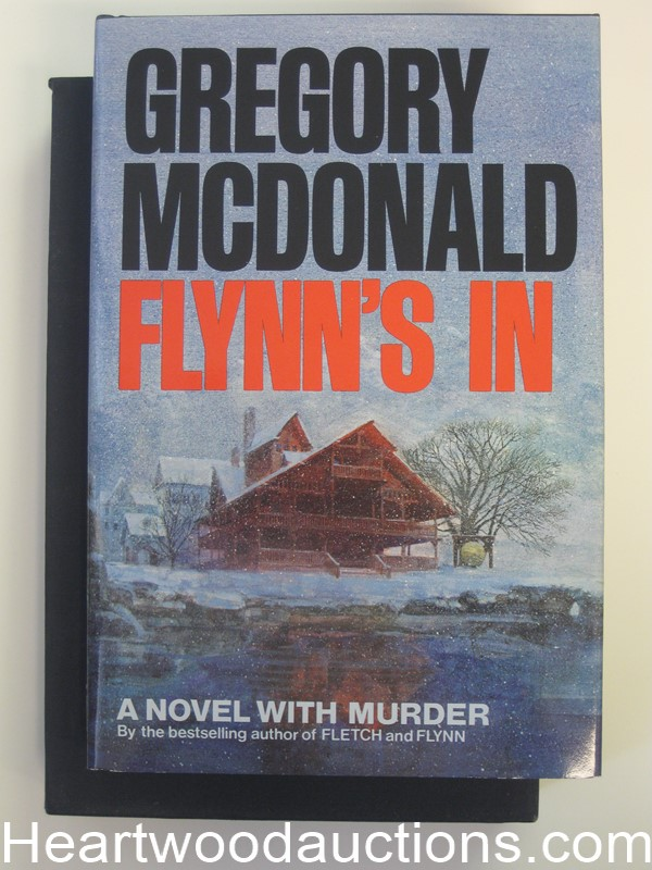 Flynn's In by Gregory Mcdonald (Signed)(Limited Edition)