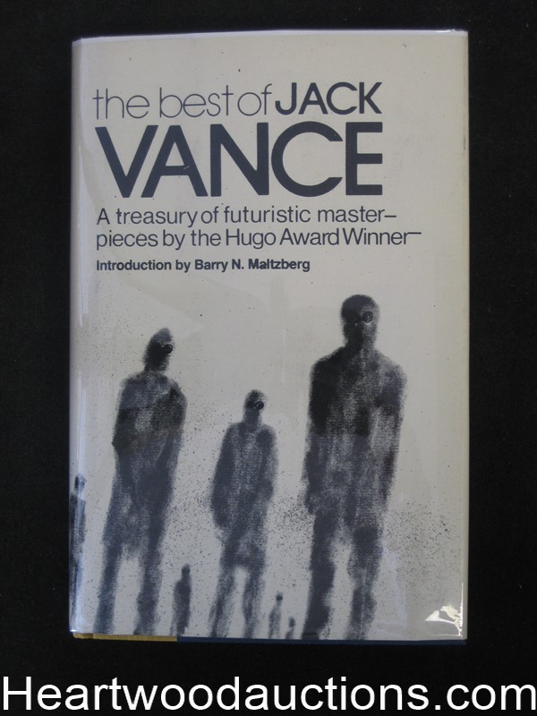 The Best of Jack Vance by Jack Vance (signed)