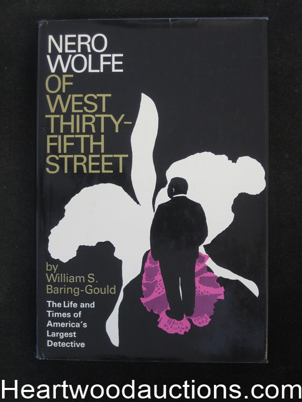 Nero Wolfe of West Thirty-fifth Street by William S. Baring-Gould- High Grade