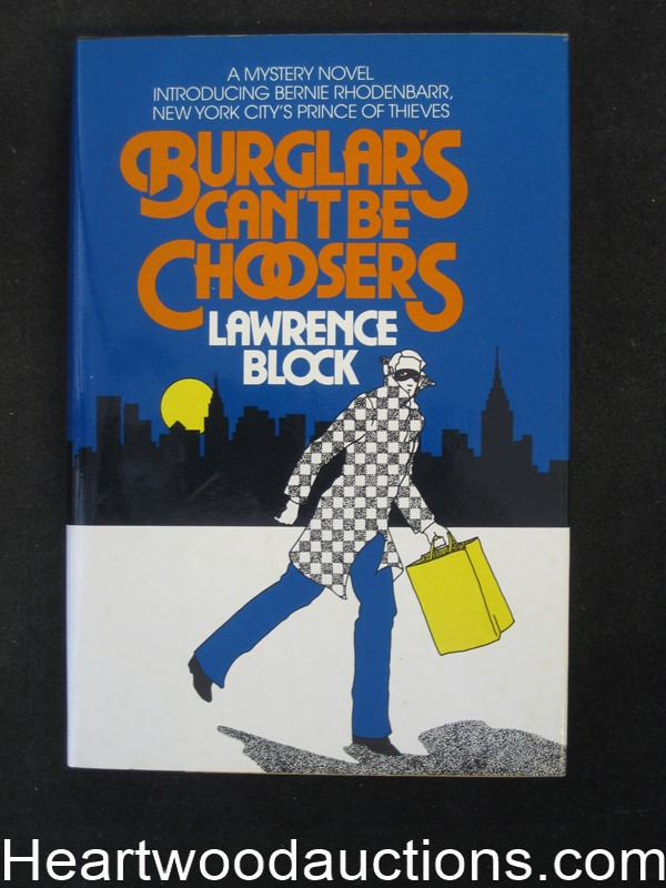 Burglar's Can't Be Choosers by Lawrence Block( Signed and inscribed)