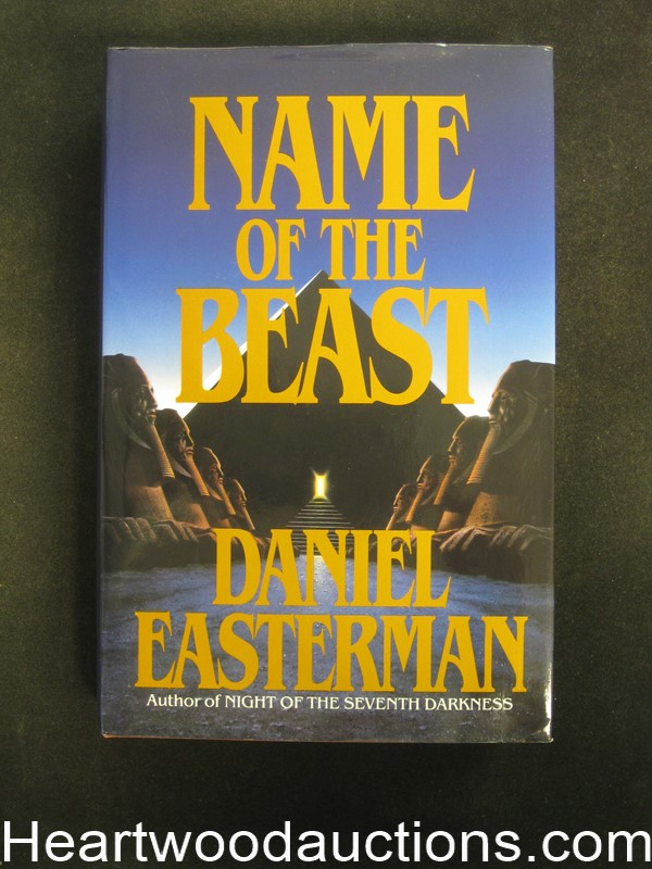 Name of the Beast by Daniel Easterman- High Grade