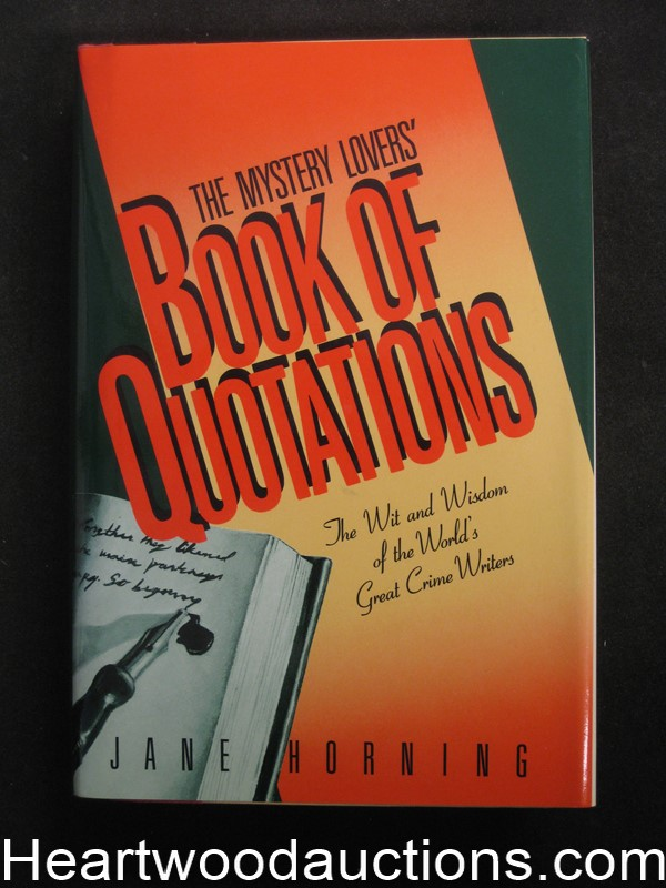 Book of Quotations by Jane E. Horning Unread Copy