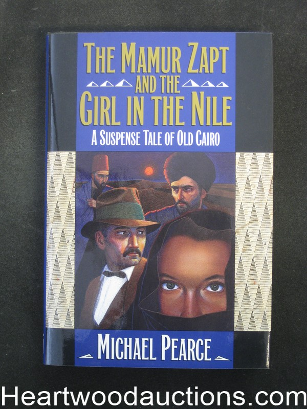 The Mamur Zapt and the Girl in the Nile by Michael Pearce Unread Copy.