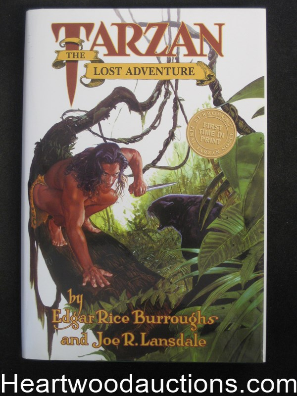 Tarzan The Lost Adventure by Edgar Rice Burroughs Unread Copy