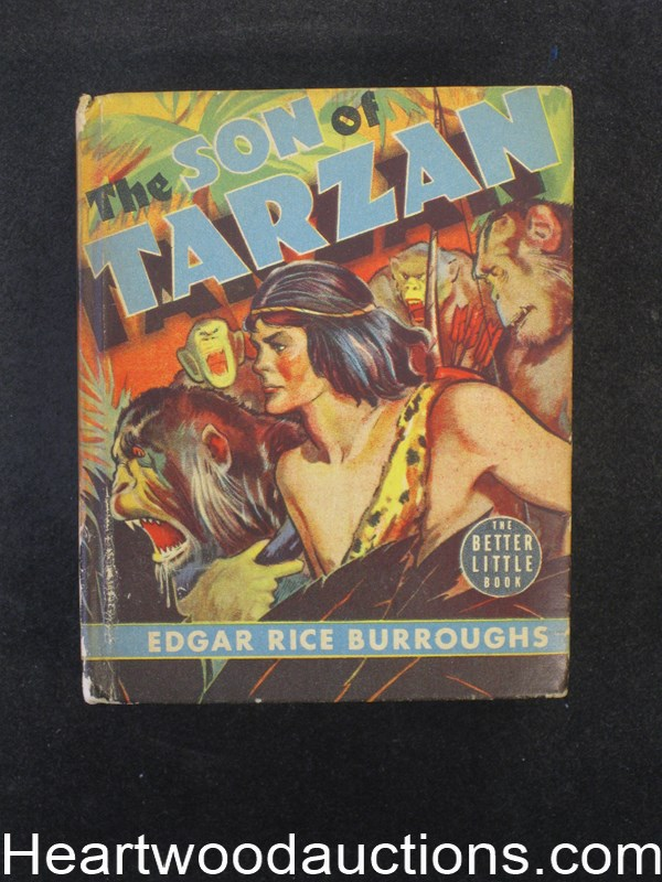 The Son Of Tarzan by Edgar Rice Burroughs
