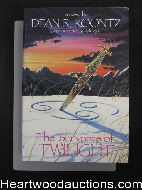 The Servants Of Twilight by Dean R. Koontz (Signed)(Limited Edition)