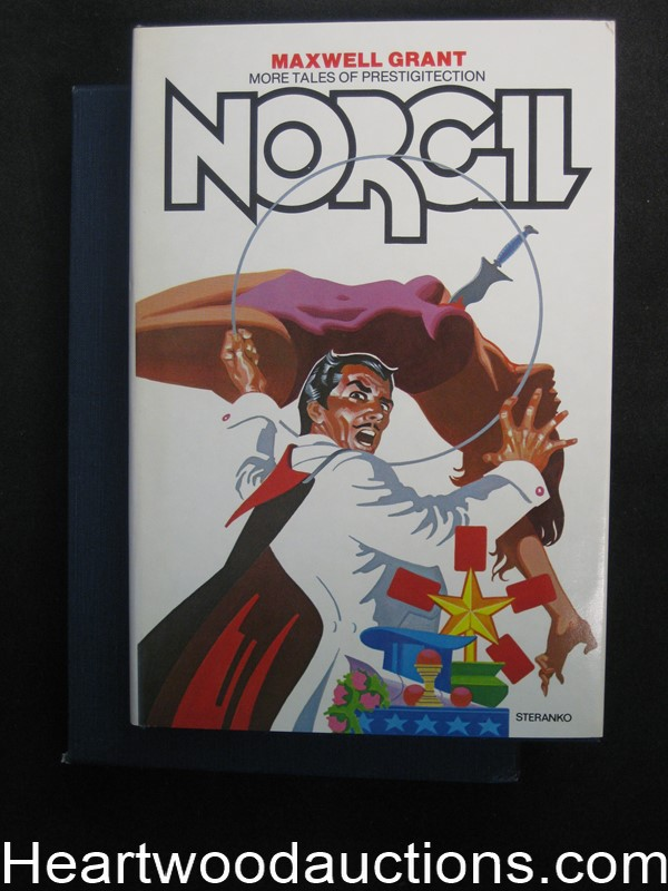 Norgil More Tales Of Prestidigitection by Maxwell Grant (Signed)(Limited Edition)