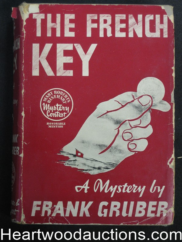 The French Key by Frank Gruber (Signed) Inscribed to Sam Peeples
