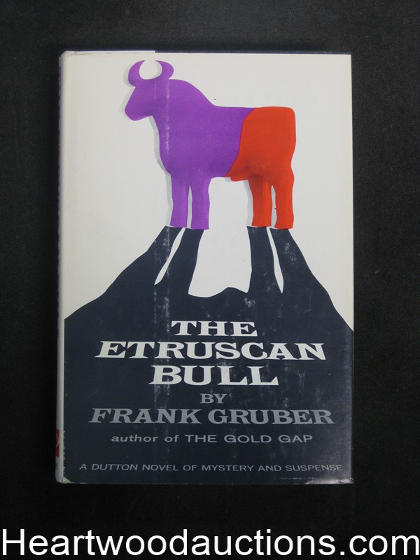The Etruscan Bull by Frank Gruber (Signed)(Inscribed)- High Grade