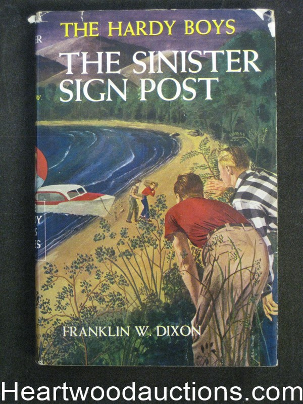 The Sinister Sign Post by Franklin W. Dixon- High Grade