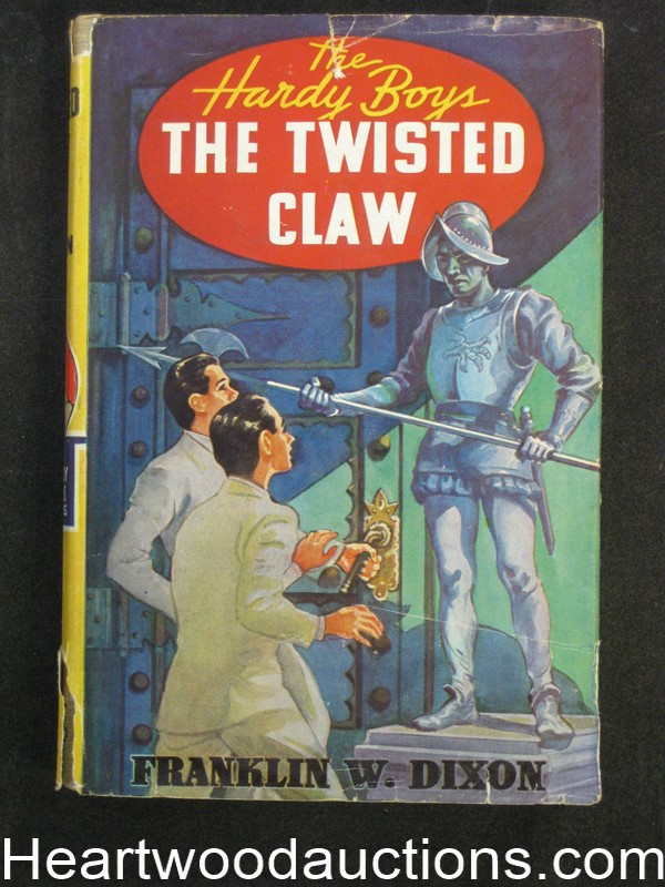 The Twisted Claw by Franklin W. Dixon