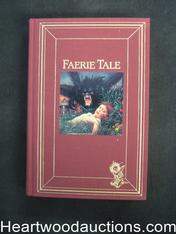 Faerie Tale by Raymond E. Feist Limited Edition Signed Inscribed
