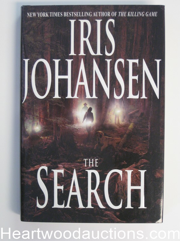 The Search by Iris Johansen Unread Copy