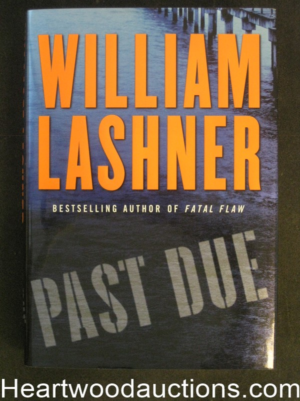Past Due by William Lashner Unread Copy