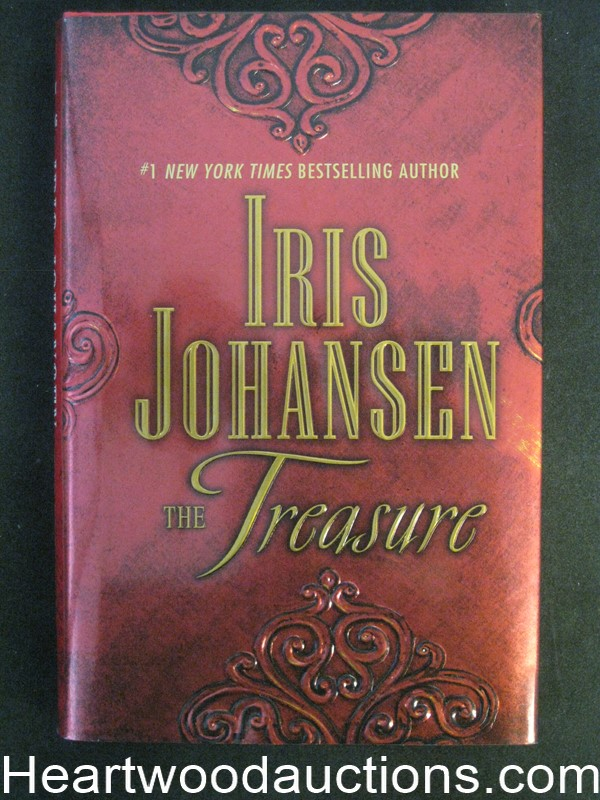 The Treasure by Iris Johansen Unread Copy