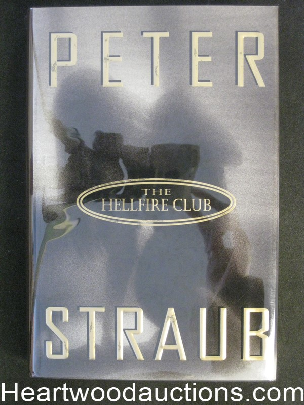 The Hellfire Club by Peter Straub (Signed) Unread Copy
