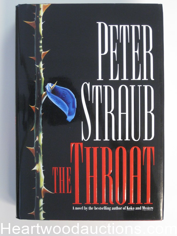 The Throat by Peter Straub (Signed)(Inscribed)