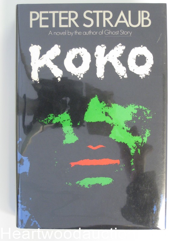 Koko by Peter Straub- High Grade