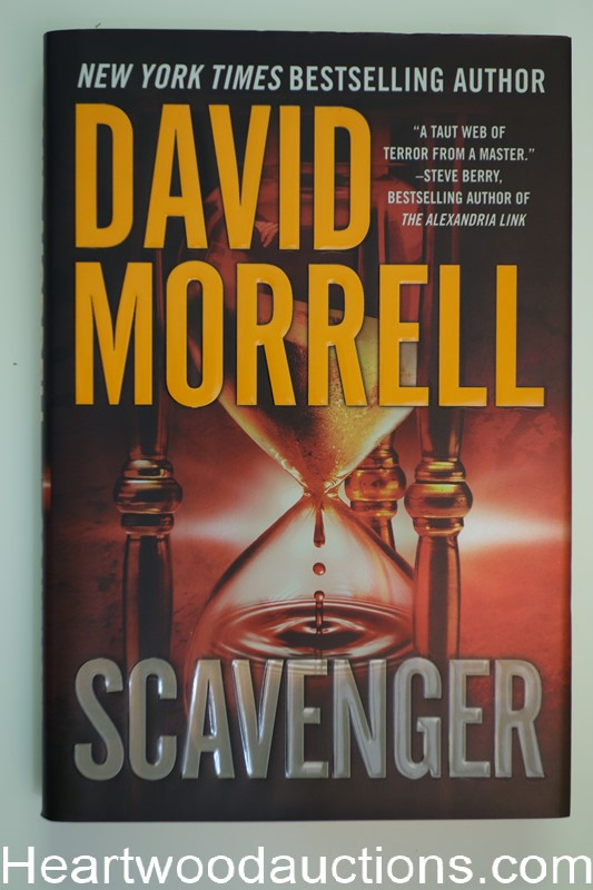 Scavenger by David Morrell Unread Copy