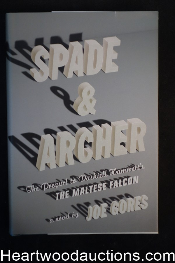Spade And Archer by Joe Gores (Signed)