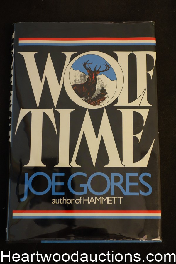 Wolf Time by Joe  Gores- High Grade