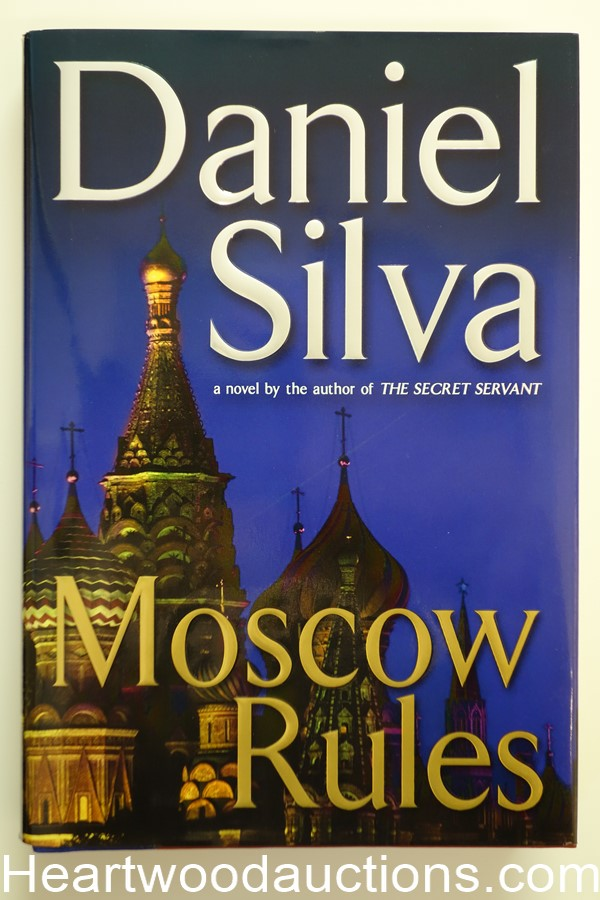 Moscow Rules by Daniel Silva (Signed)