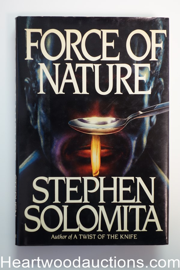 Force Of Nature by Stephen Solomita- High Grade