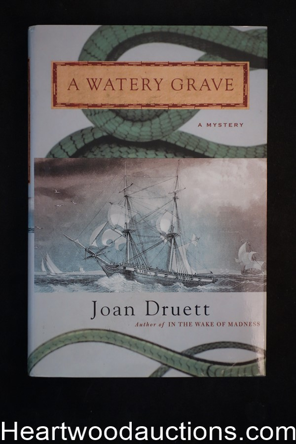 A Watery Grave by Joan Druett (Signed) Unread Copy