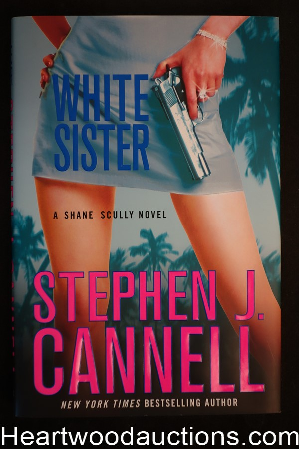 White Sister by Stephen J. Cannell Unread Copy