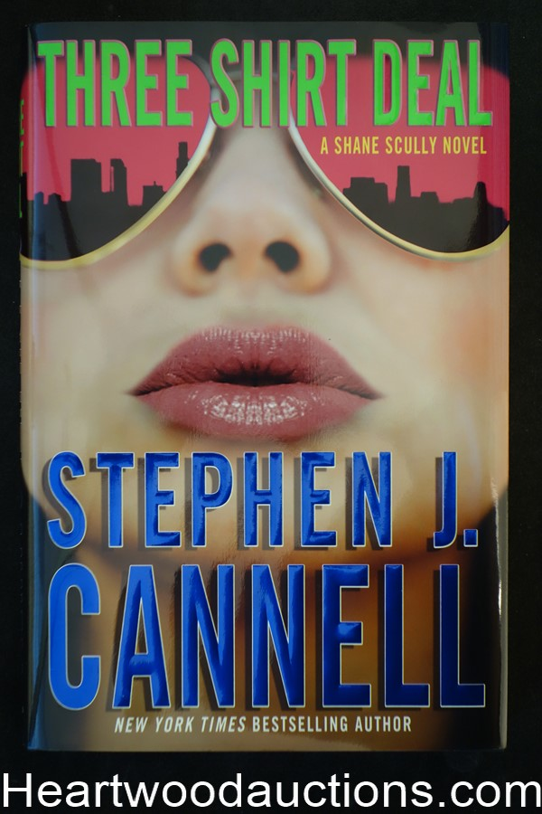 Three Shirt Deal by Stephen J. Cannell Unread Copy