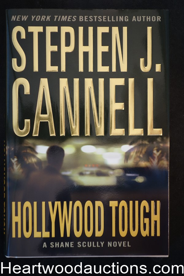 Hollywood Tough by Stephen J. Cannell Unread Copy