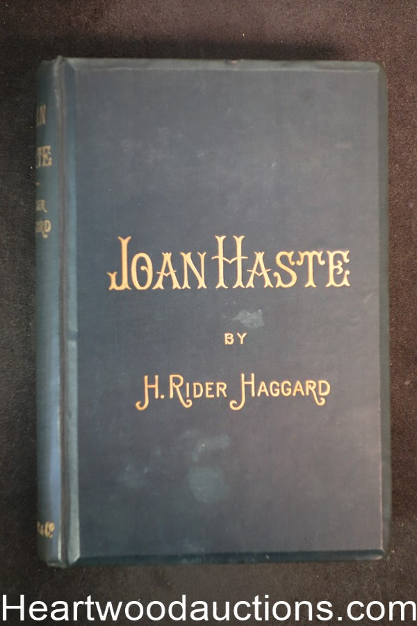 Joan Haste by H. Rider Haggard