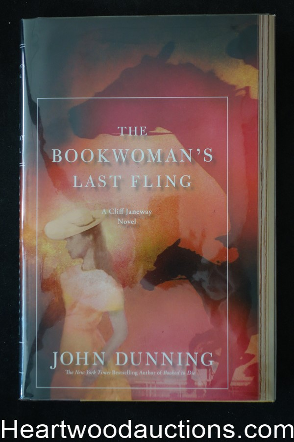 The Bookwoman's Last Fling by John Dunning (Signed)