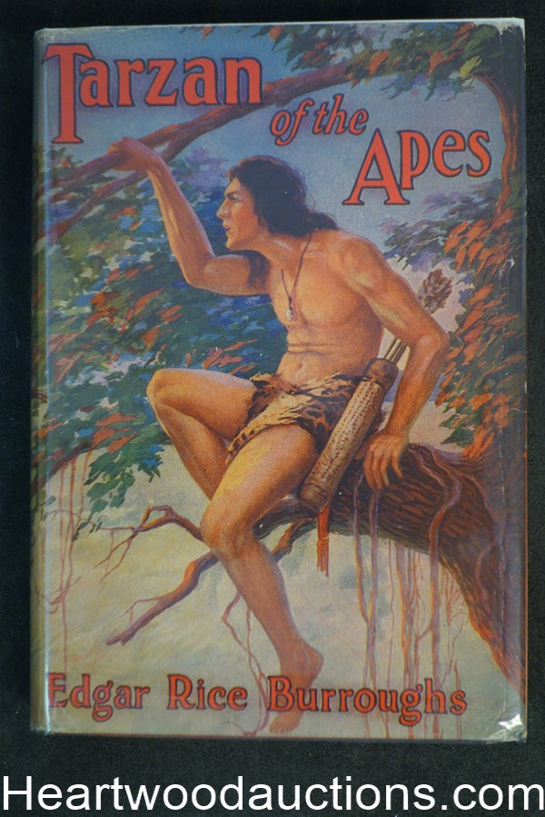 Tarzan of the Apes by Edgar Rice Burroughs art by Fred J. Arting art