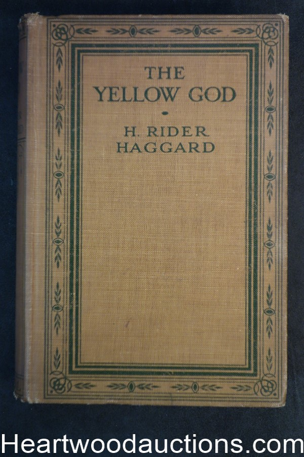 The Yellow God by H. Rider Haggard (1915) Cassell & Co.