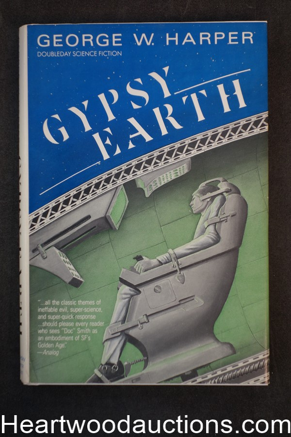 Gypsy Earth by George W. Harper (1982) First edition