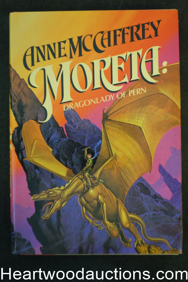 Moreta by Anne McCaffrey (1983) First Edition- High Grade
